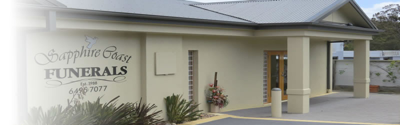 Sapphire Coast Funerals newly renovated building